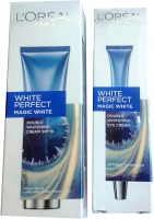 L'Oreal Paris White Perfect Magic Spf 19 + Eye Cream (Set Of)