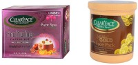 Clear Face Fruitwine Facial Kit With 24 Carat Gold Face Pack (Set Of 2)
