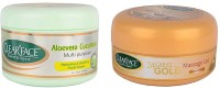 Clear Face Aloevera Cucumber Multi Purpose Facial Cream With 24 Carat Gold Massage Gel (Set Of 2)
