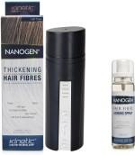 Nanogen Combos and Kits Nanogen Hair Fibres Light Brown with Locking Spray
