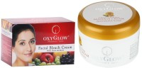 Oxyglow Facial Bleach Cream With Fruit Extracts & Oxynourishing Massage Cream (Set Of 2)