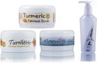 Adidev Herbals Herbal Skin Whitening Turmeric Fairness Pack (Set Of 4)