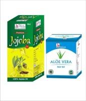 Besure Jojoba Oil With Aloe Vera Hair Gel (Set Of 2)