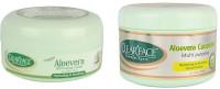 Clear Face Aloevera Cream (All Purpose) With Aloevera Cucumber Multi Purpose Facial Cream (Set Of 2)