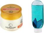 Oxyglow Combos and Kits Oxyglow Apricot & Jojoba Facial Scrub & Bath Gel Blue