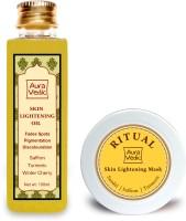 Auravedic Flawless Skin Lightening Kit (Set Of 2)