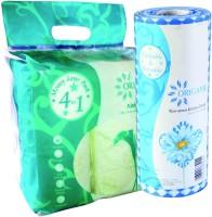 Origami So Soft Non Woven Kichen Towel 80 Pulls & Origami Kichen Tissue Paper Towel 4 In 1 Combo (Set Of 2)