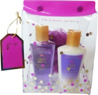 Victoria's Secret Love Spell With Loofah (Set Of 3)