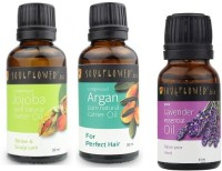 Soulflower Hair And Skin Care Set Of 3 (Set Of 3)