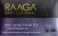 Raaga Professional Anti-Aging Facial Kit With Rosemery Oil 43 G (Set Of 7)