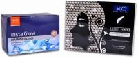 VLCC Natural Sciences Diamond Polishing Facial Kit & Insta Glow Diamond Bleach (Set Of 2)