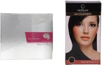 Oxyglow Pearl Facial Kit & Hair Colour Cream-Black (Set Of 2)