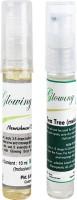 Glowing Buzz Combo Of 1 Nourishment Vitamin E Oil And 1 Tea Tree Essential Oil (Set Of 2)