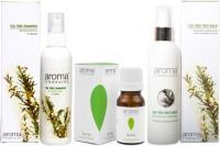 Aroma Treasures Tea Tree Face Wash, Tea Tree Shampoo And Tea Tree Oil (Set Of 3)