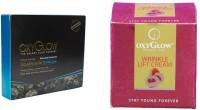 Oxyglow Golden Glow Flawless Daimon Facial Kit & Wrinkle Lift Cream 50gm (Set Of 2)