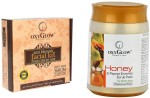 Oxyglow Combos and Kits Oxyglow Anti Blemish Facial Kit & Honey & Papaya Enzyme Scrub Pack