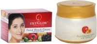 Oxyglow Facial Bleach Cream With Fruit Extracts & Fruit Massage Cream With Vitamin-E (Set Of 2)