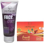 Oxyglow Combo & Kits Oxyglow Bearberry Face Wash & Fruit Facial Kit