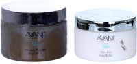 Avani Mineral Therapy Mud Mask And Ultra Rich Body Butter (Milk/Honey) (Set Of 2)