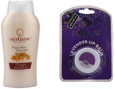 Oxyglow Combos and Kits Oxyglow Ginger & Honey Shampoo & Lip Balm