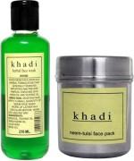 khadi Natural Combos and Kits khadi Natural Neem Face Combo