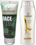 Oxyglow Combos and Kits Oxyglow Neem & Tulsi Face Wash & Rich Body Butter