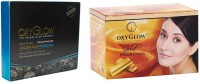 Oxyglow Golden Glow Flawless Daimon Facial Kit & Gold Bleach Cream 240gm (Set Of 2)