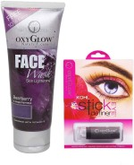 Oxyglow Combos and Kits Oxyglow Bearberry Face Wash & Kohl Stick Eye Definer