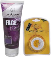 Oxyglow Bearberry Face Wash & Lip Balm (Set Of 2)
