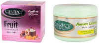 Clear Face Fruit Cream Bleach With Aloevera Cucumber Multi Purpose Facial Cream (Set Of 2)