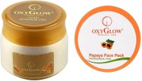 Oxyglow Gold Massage Gel Eco Pack & Papaya Face Pack (Set Of 2)