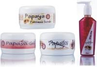 Adidev Herbals Skin Brightening Papaya Fairness Pack 400 G (Set Of 4)