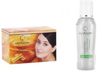 Oxyglow Gold Bleach Cream & Hair Serum (Set Of 2)