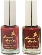 Anna Andre Paris Combos and Kits Anna Andre Paris Nail Polish Pink Rust Duo Set