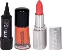 Viviana Pride Lipstick, Nail Colors, Kajal (Set Of 3) - CBKDWMTGWFZ2GRXN