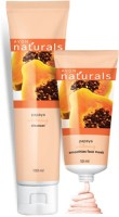 Avon Naturals Papaya Whitening Cleanser (100 Ml) & Smoothies Face Mask (50 Ml) (Set Of 2)
