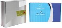 Oxyglow Papaya Facial Kit & Hair Spa Herbal Treatment Kit (Set Of 2)