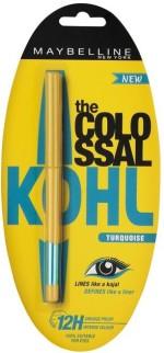 Maybelline Kajal Maybelline Colossal Kohl Turquoise Kajal 0.35 gm 0.35 g