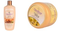 Clear Face Shea Extra Rich Almond Honey & Gold Dust Almond Oil Massage Gel (Set Of 2)