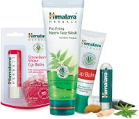 Himalaya Herbals Face Kit (Kajal Lip Balm'S Face Wash) (Set Of 4)