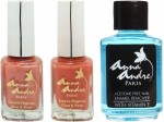 Anna Andre Paris Combos and Kits Anna Andre Paris Nail Polish Orange Peels Duo Set & Nail Polish Remover