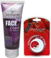 Oxyglow Bearberry Face Wash & Lip Balm (Set Of 2) - CBKE9WKT3NGB7V9R