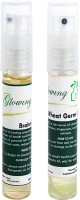 Glowing Buzz Combo Of 1 Brahmi Essential Oil And 1 WheatGerm Essential Oil (Set Of 2)