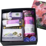 Soulflower Combos and Kits Soulflower Relax with Lavender Hamper Set