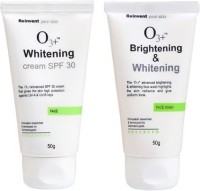 O3+ Brightening & Whitening Face Wash & Whitening - SPF 30 Combo No -1 (Set Of 2)