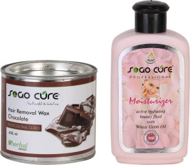 Sogo Cure Chocolate Hair Removal Wax and Body Moisturizer