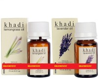 Khadi Essential Oil Combo - 11 (Lemongrass & Lavender) (Set Of 2)