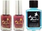 Anna Andre Paris Combos and Kits Anna Andre Paris Nail Polish Pink Dreams Duo Set & Nail Polish Remover