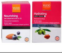 VLCC Nourshing Day Cream And Hydrating Night Cream (Set Of 2)