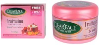 Clear Face Fruit Wine Facial Kit & Fruit Wine Exfloiting Scrub (Set Of 2)